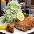 メンチかつ定食¥940@とんかつ赤城(神奈川県相模原市)