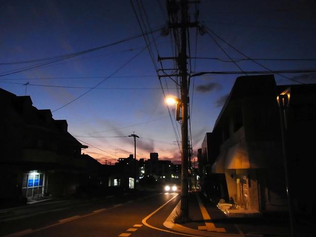 Photos: 夕闇迫りて