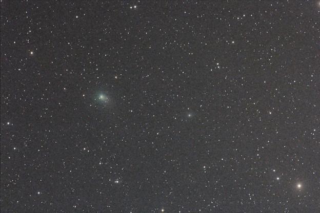 アトラス彗星とパロマ彗星