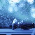 Photos: 外は雨