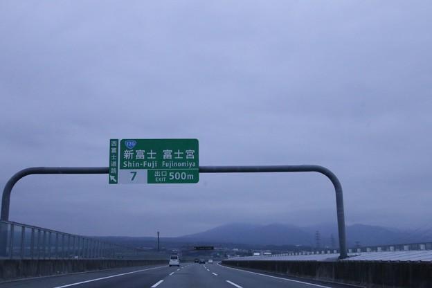 新東名高速道路(新富士・富士宮)