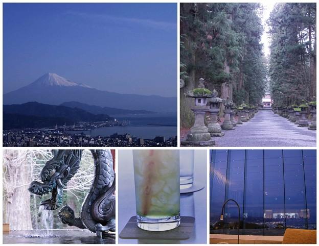 浅間神社・富士山・日本平ホテル
