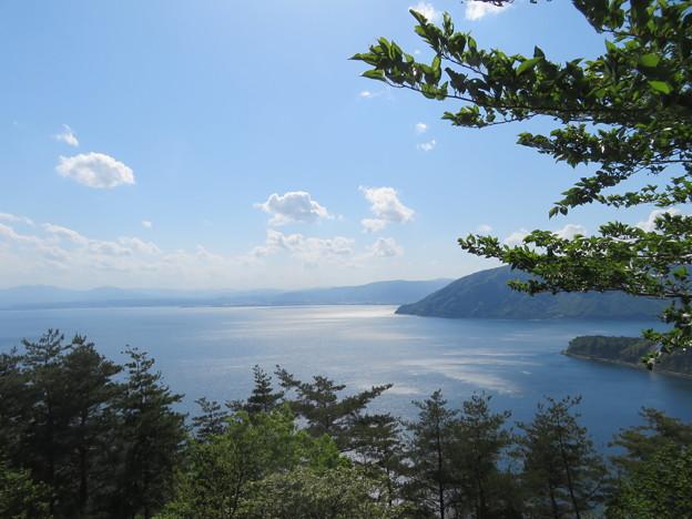 琵琶湖の眺望