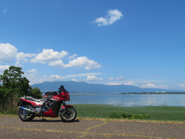 琵琶湖&琵琶湖大橋