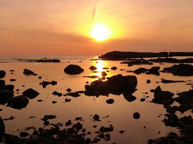 洛陽 能渡 赤住海岸