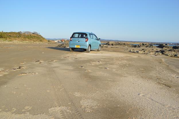 渚を車で走れます (*^_^*)