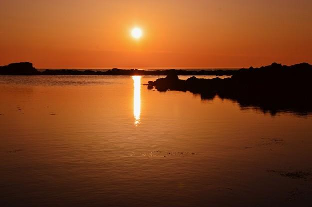落陽 能登は小浦海岸