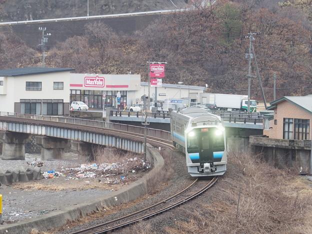 五能線 GV-E400 広戸~深浦