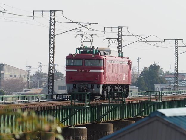 EF81 140  単機回送 新津~京ヶ瀬