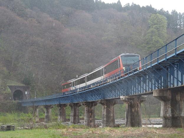 海里さくら回廊号回送 陸羽西線 高屋~清川