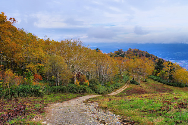 富良野・ロープーウェイ山頂