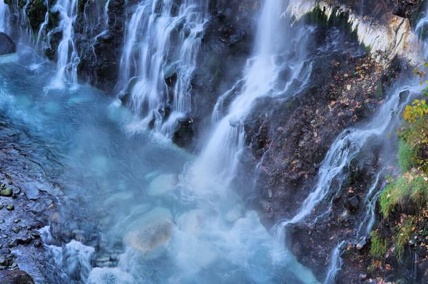 美瑛・白銀白髭の滝1
