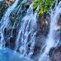 美瑛・白銀白髭の滝2