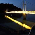 Photos: 観月橋にイルミネーション・・湯の児