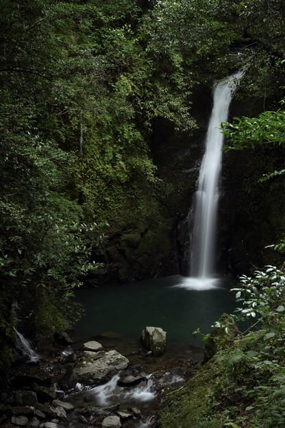 小滝、山道から