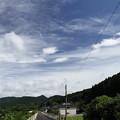 夏空遊歩道