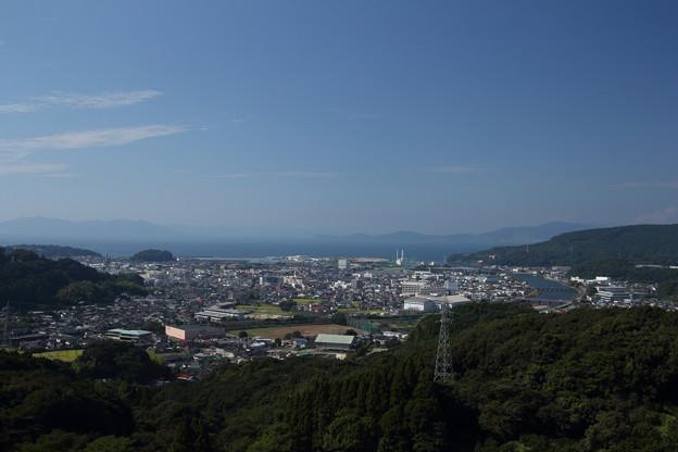 今日の水俣・・中尾山登山道中腹
