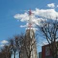 Photos: 鉄塔にカバー