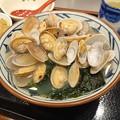 Photos: あさりうどん発動!