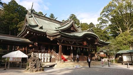 春の筑波山神社