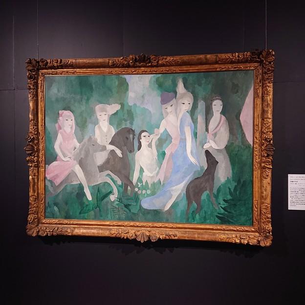 マリー・ローランサン「お城の生活」1925年