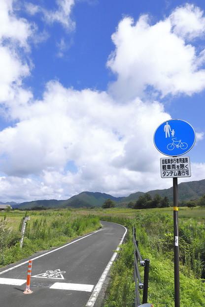 Photos: サイクリングロード