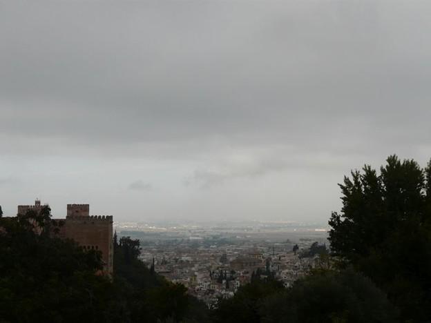 アルハンブラ宮殿のあたり