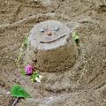 お砂場アート