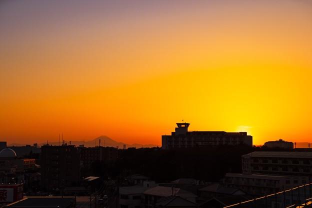 シリーズ(?)屋上夕焼け 1