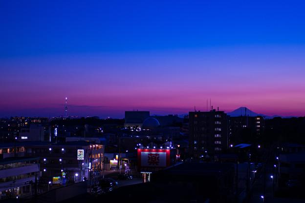 シリーズ(?)屋上夕焼け 4