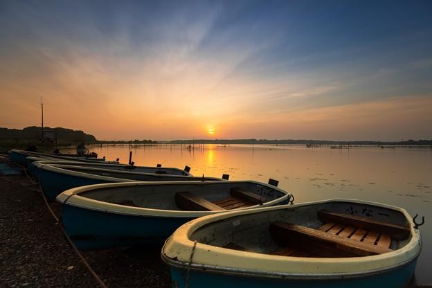 日の出後 ローアングル