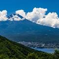 御坂峠より望む富士山