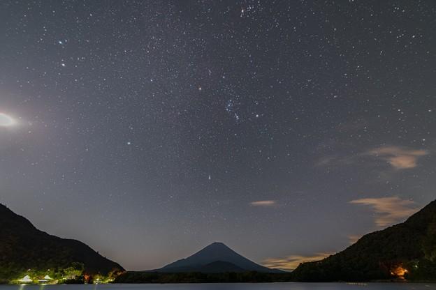 精進湖の星空 その1