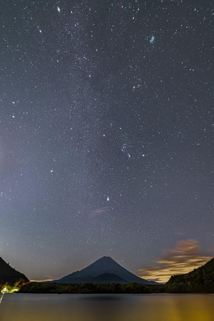 精進湖の星空 その2