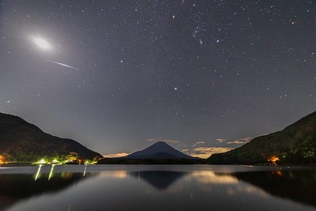 精進湖の星空 その3