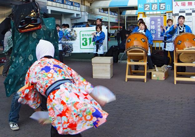 女川獅子振@東京(震災後をたどって 20)