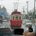 Photos: 雨を走る函館市電