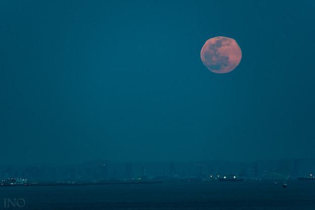 Photos: 歪んだ月