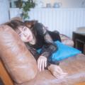 Photos: ねむりさん、瞳は語る