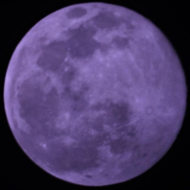 スノームーン(二月の満月)
