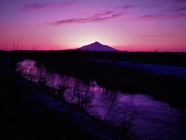 サロベツの夕景4_4(2)
