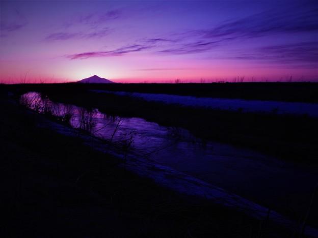 サロベツの夕景4_4(1)
