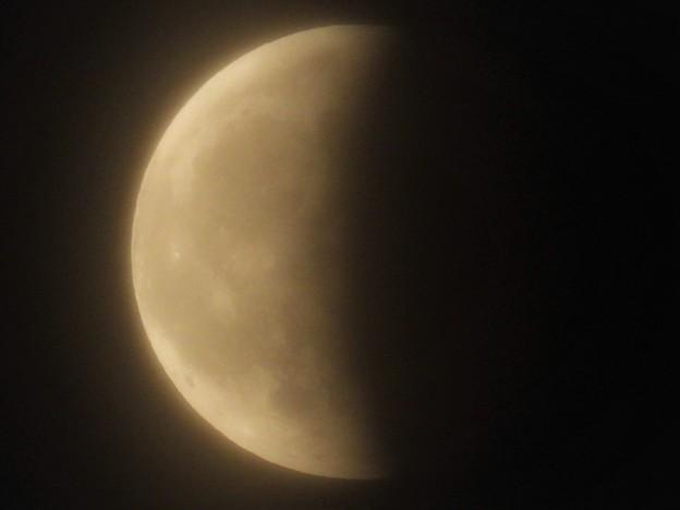 スーパームーンの月食_3