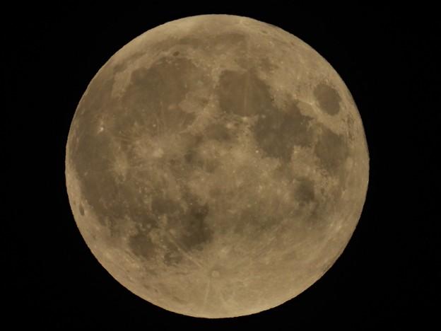 スーパームーンの月食_4