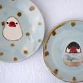 文鳥ケーキ皿