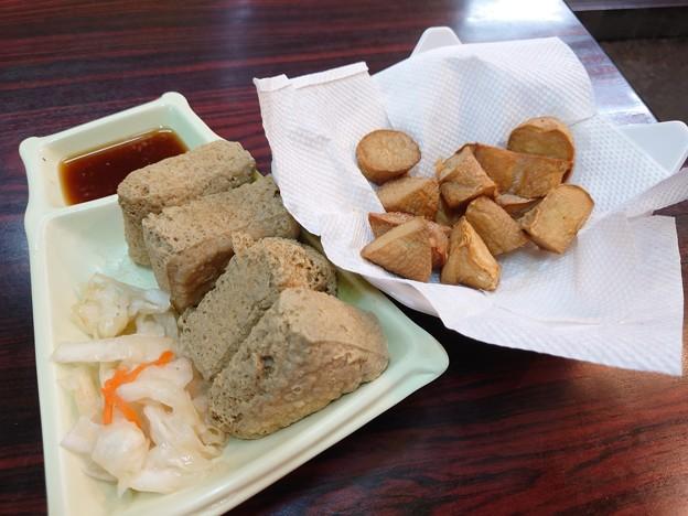 臭豆腐とエリンギフライ