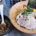 Photos: 覆麺智2021年3月木曜限定 真鱈肝まぜそば烏賊煮干しスープ付き
