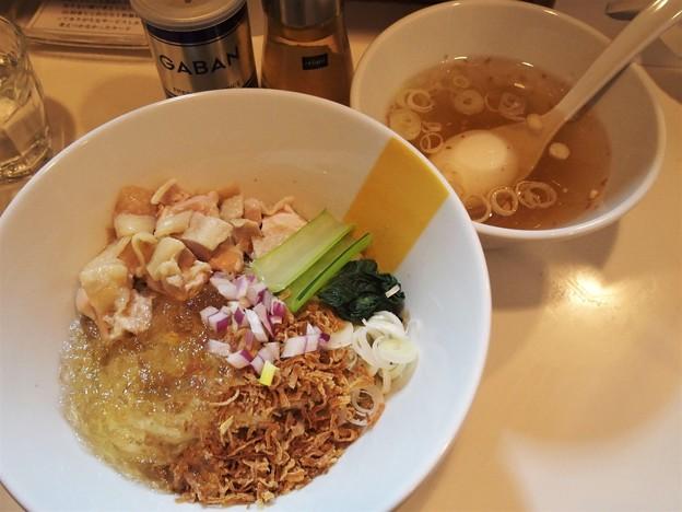 塩生姜らー麺専門店MANNISH浅草店 冷たい塩生姜油そば