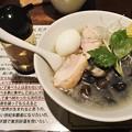 塩生姜らー麺専門店MANNISH もぐらのしじみとアゴダ塩らー麺