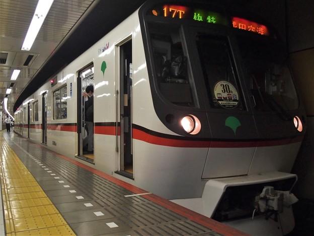 京成押上線押上駅4番線 都営5316F(相互直通30周年HM)快速特急成田空港行き(3)